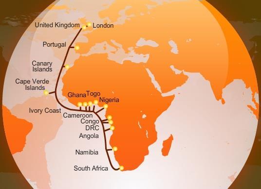喀麦隆正式接入西非海缆系统