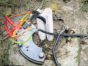 广州大棉涌电线被盗 影响市民夜间出行