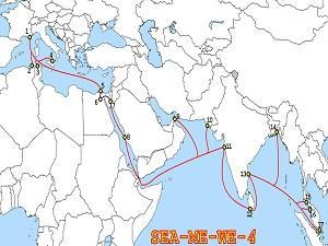 东南亚-中东-西欧海缆故障致大马网速减慢