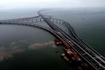 杭州湾将再建2条跨海铁路大桥