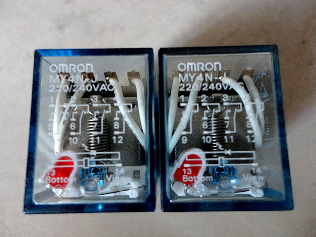 供应omron中间继电器/电磁继电器/my2nj hh52p