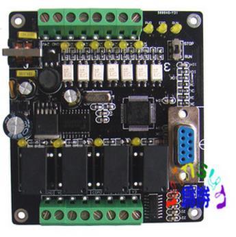 三菱plc工控板 国产 fx1n-10mr 在线下载 监控 文本 可编程控制器