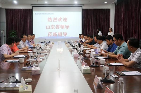 山东省胶州经济开发区、阳谷县领导莅临远东参观调研