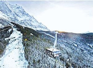 ABB打破3项世界纪录 成功助力楚格峰新型缆车