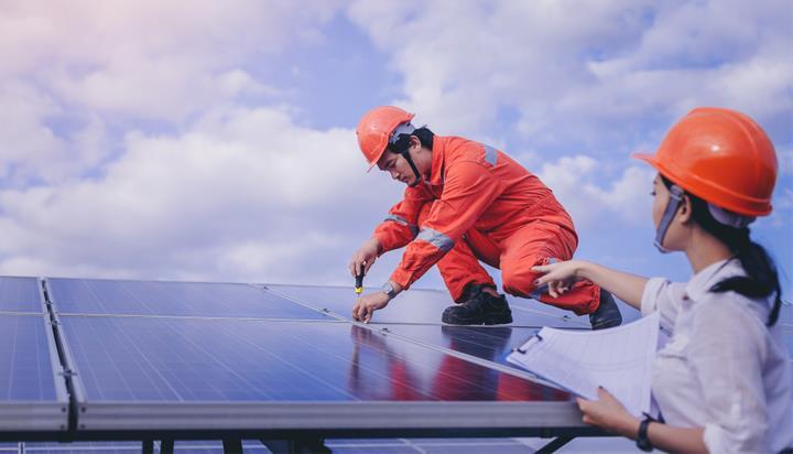 到2030年全球可创造2400万个绿色就业机会