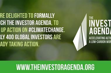 全球近400家投资商发起投资者议程 呼吁全球行动