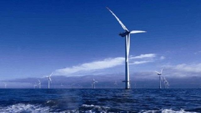 大唐首个海上风电项目主体施工全部完成