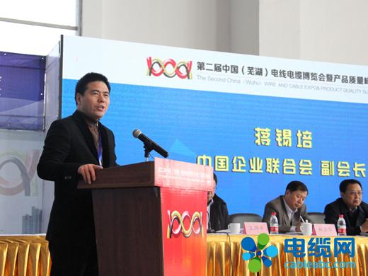 蒋锡培:诚信务实 创新创优 和谐共赢