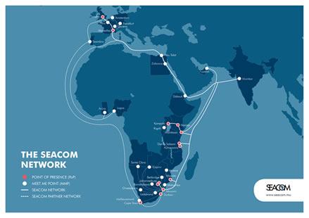 【电缆网讯】近日,非洲海底电缆运营商seacom公司表示,今年将在